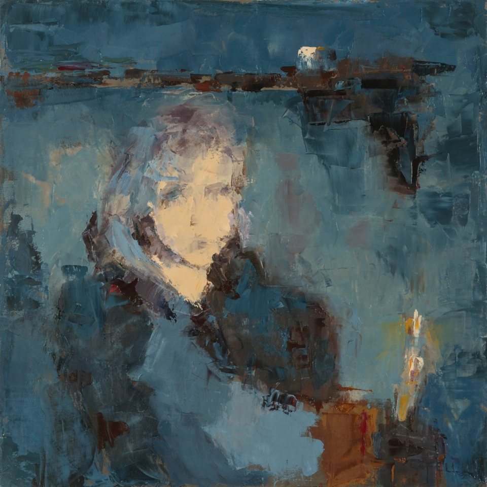 In the Evening (oil on canvas) by artist Kathleen Gefell, New York