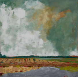 Storm  (oil on canvas) by artist Kathleen Gefell, New York