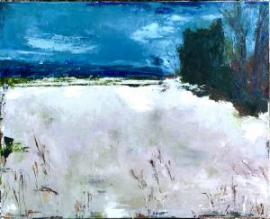 Dead of Winter (oil on canvas) by artist Kathleen Gefell