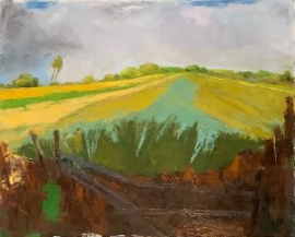 After the Storm (oil on oil paper) by artist Kathleen Gefell