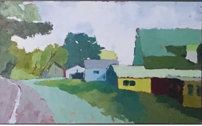 Peace and Quiet (oil on canvas) by artist Kathleen Gefell