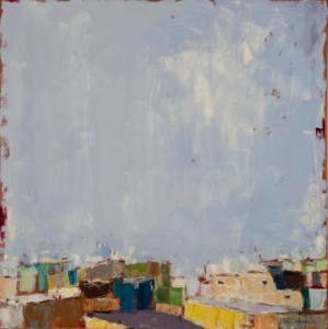 Citi  (oil on canvas) by artist Kathleen Gefell, New York