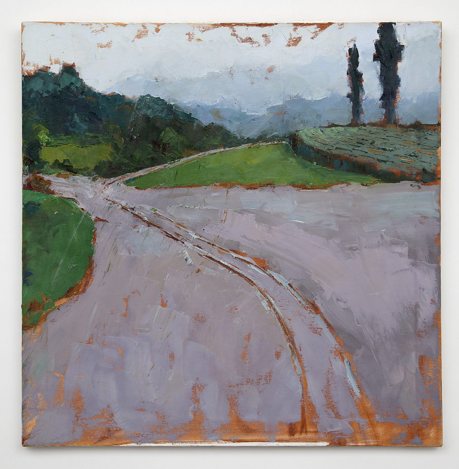 The Road  (oil on canvas) by artist Kathleen Gefell, New York